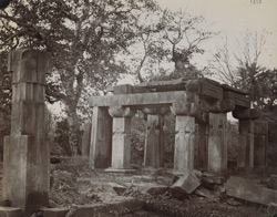 General view of ruined temple known as Bhim-ka-Chauri, Mokundara.